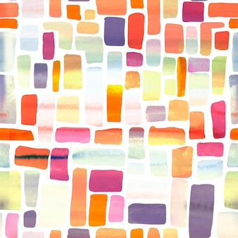 Abstract watercolor pattern design