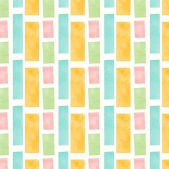 추상 수채화 패턴 디자인