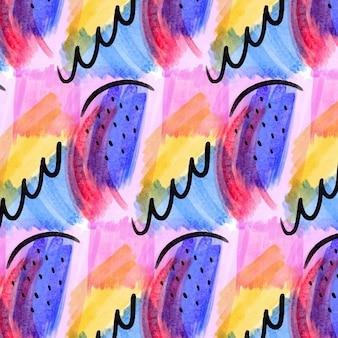 抽象的な水彩パターン