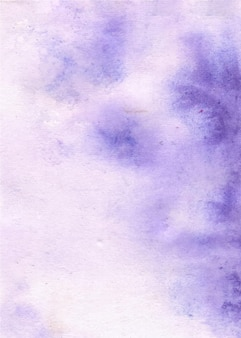 Abstract watercolor purple background
