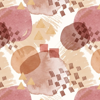 Abstract watercolor seamless pattern texture
