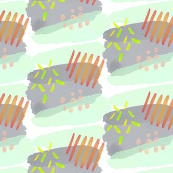 추상 수채화 원활한 패턴