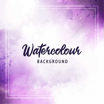 Abstract watercolor soft purple background