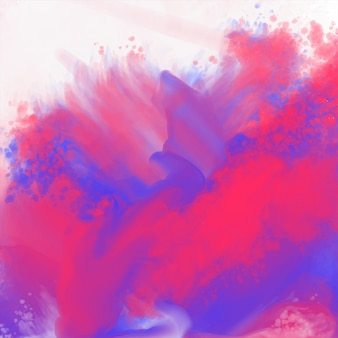 Abstract watercolor splatter background texture