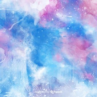 抽象的な水彩画の汚れ背景