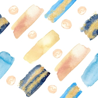 Abstract watercolor style pattern