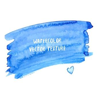 青色の抽象的な水彩のテクスチャ。水彩の海の背景。スタイルの背景