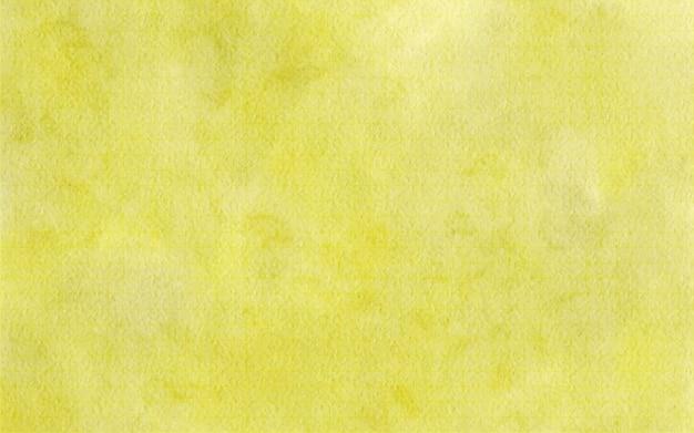 추상 수채화 노란색 배경