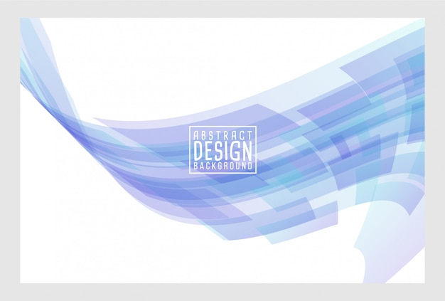 Abstract wave art background design