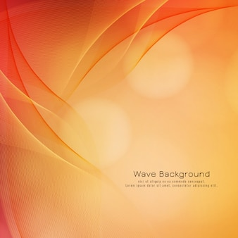 Abstract wave background