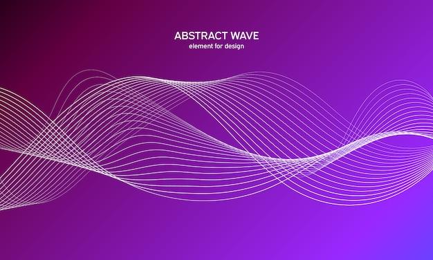 抽象的な波背景