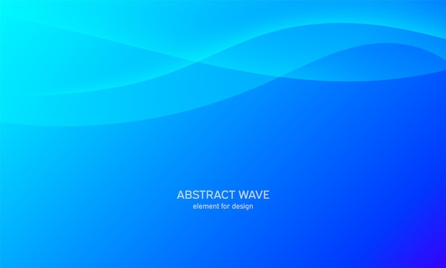 抽象的な波背景。
