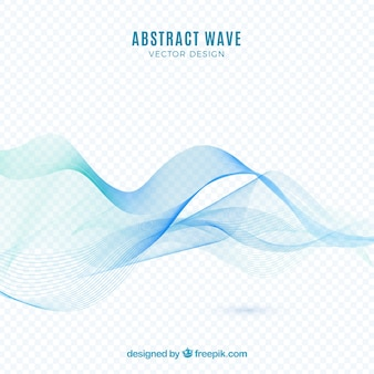 Абстрактный волновой фон