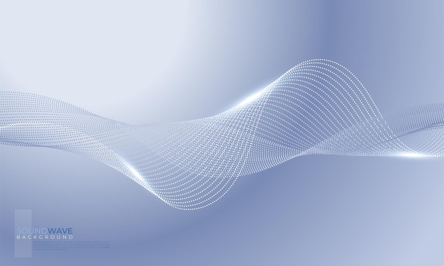 Abstract wave element for design. digital frequency track equalizer. stylized line art background. vector