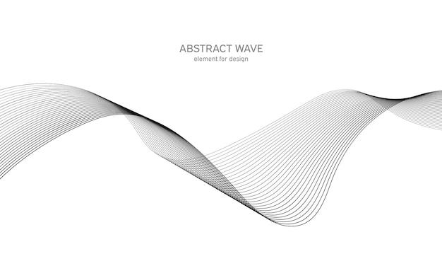 抽象的な波要素。デジタル周波数トラックイコライザー。