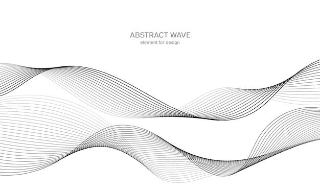 Абстрактный элемент волны для дизайна. цифровой частотный эквалайзер.