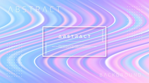 Abstract wave flow background