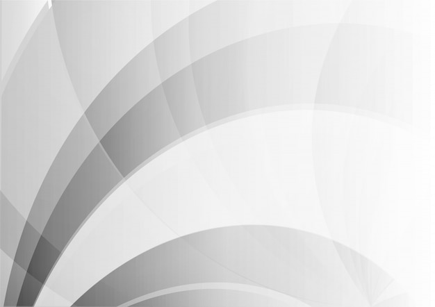 Abstract wave geometric white and gray color background