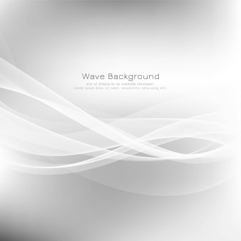 Abstract wave grey background