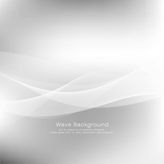 Abstract wave grey modern background