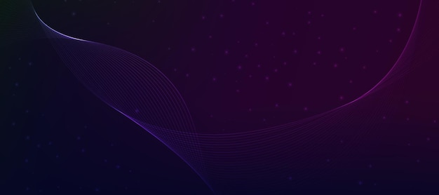 Abstract wave purple violet gradient wallpaper background