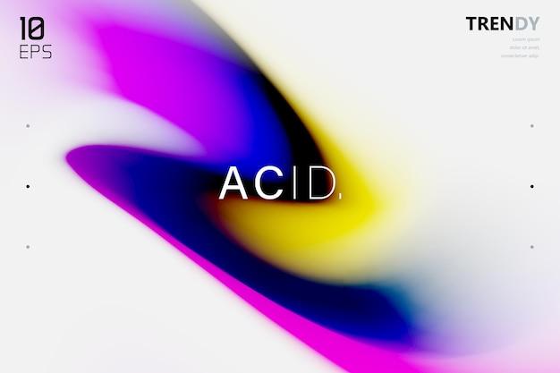 Абстрактный фон формы волны дизайн