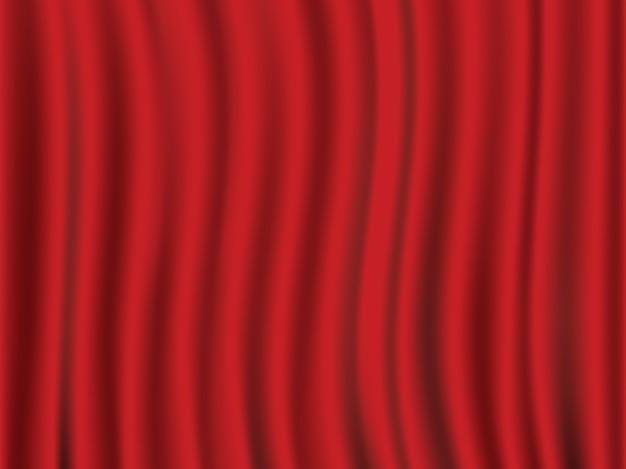 グランドオープニングセレモニーのための抽象的な波シルクサテン生地