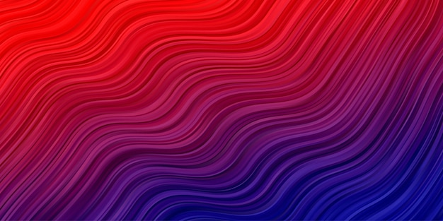 Abstract waves background. stripe line pattern wallpaper in red blue color