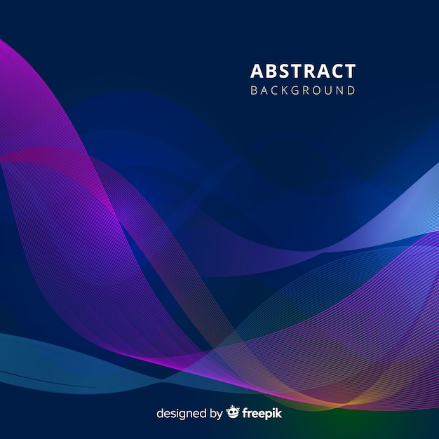 Free Abstract wavy background SVG DXF EPS PNG - Download