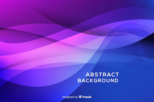 Abstract wavy background