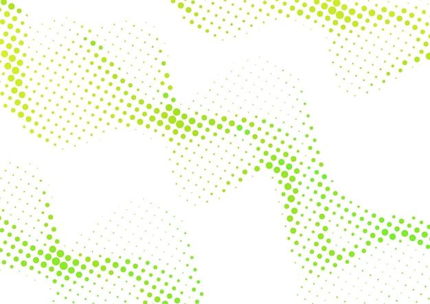 Абстрактный волнистый красочный градиент точек полутонового фона, дизайн полутонового фона