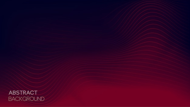 Abstract wavy line background
