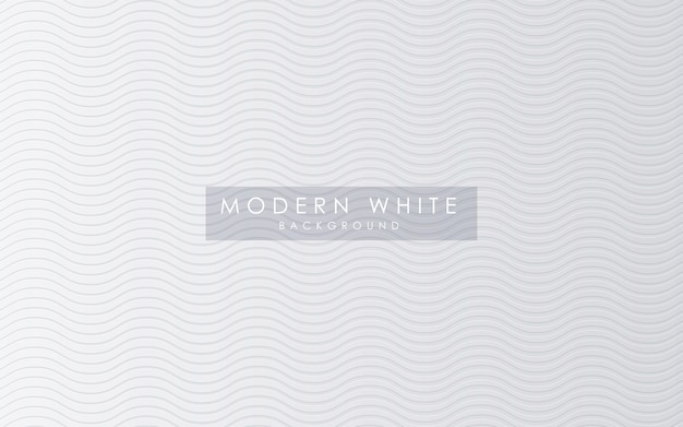 Abstract wavy texture white background