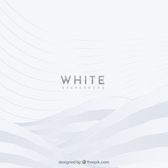 Abstract wavy white background