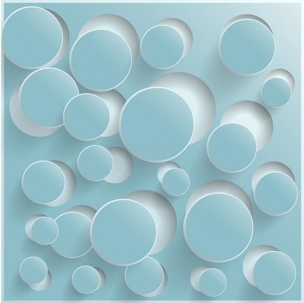 抽象的なwebデザインのバブル、ベクトル