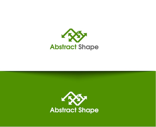 Abstract web icons and vector logo
