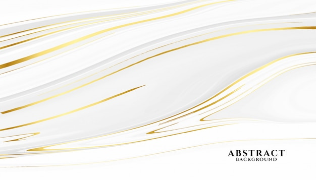 抽象的な白と金色の大理石のテクスチャ背景