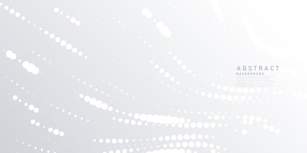 Абстрактный белый и серый фон современный дизайн фона волны полутонов