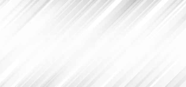抽象的な白とグレーの斜めのストライプの背景
