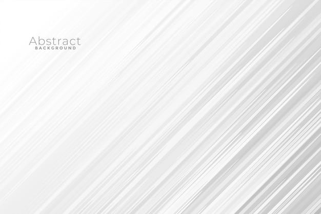 Backgorund bianco astratto con linee veloci