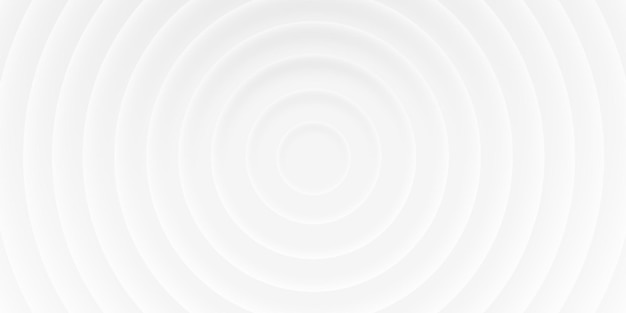 그림자, 재료 3d 스타일이 있는 원의 추상 흰색 배경. 인쇄 템플릿, 브로셔, 웹, 표지에 대한 기하학적 벡터 텍스처