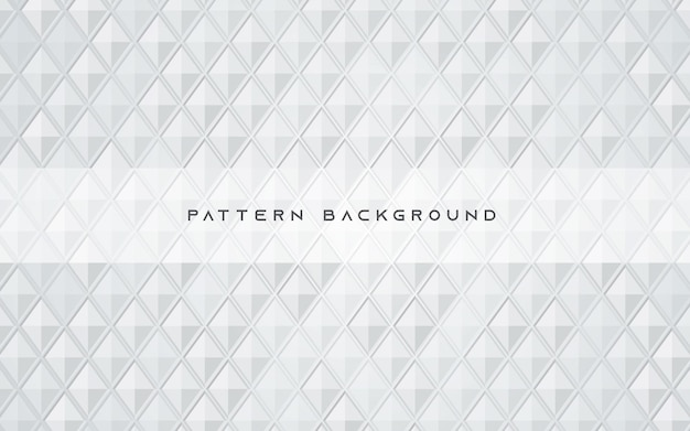 Abstract white background polygonal pattern texture