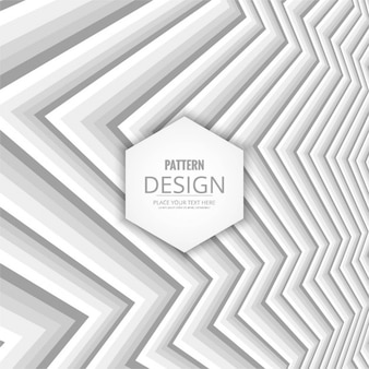 Abstract white background with zig zag