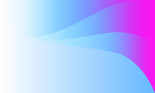 추상 흰색, 파란색 및 분홍색 그라데이션 파도 배경. 브랜드 책의 새 템플릿입니다.