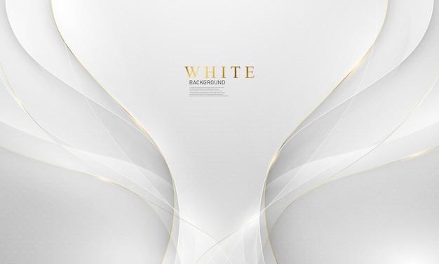 Абстрактный фон из белого золота с динамической. технологическая сеть векторные иллюстрации.