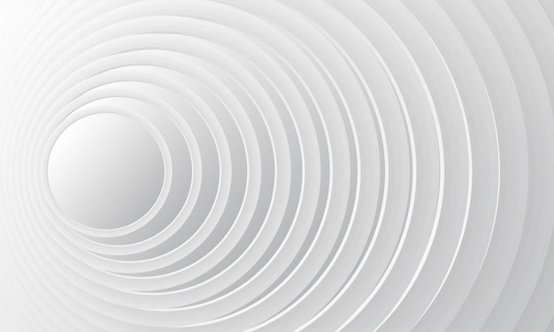 Abstract white gradient background with modern geometric dynamic motion style