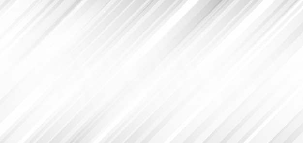 Abstract white and gray diagonal stripes background