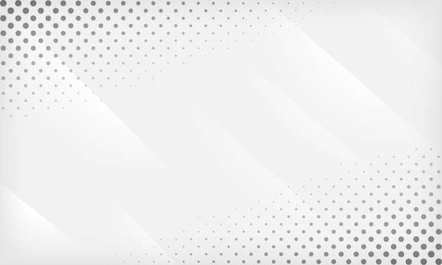 Abstract white and gray gradient geometric background