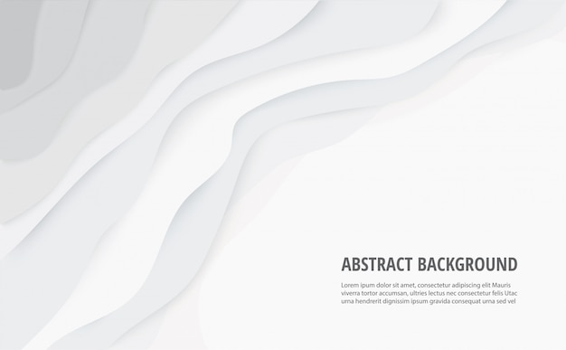 Abstract white gray lines background