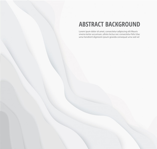 Abstract white gray lines geometric background